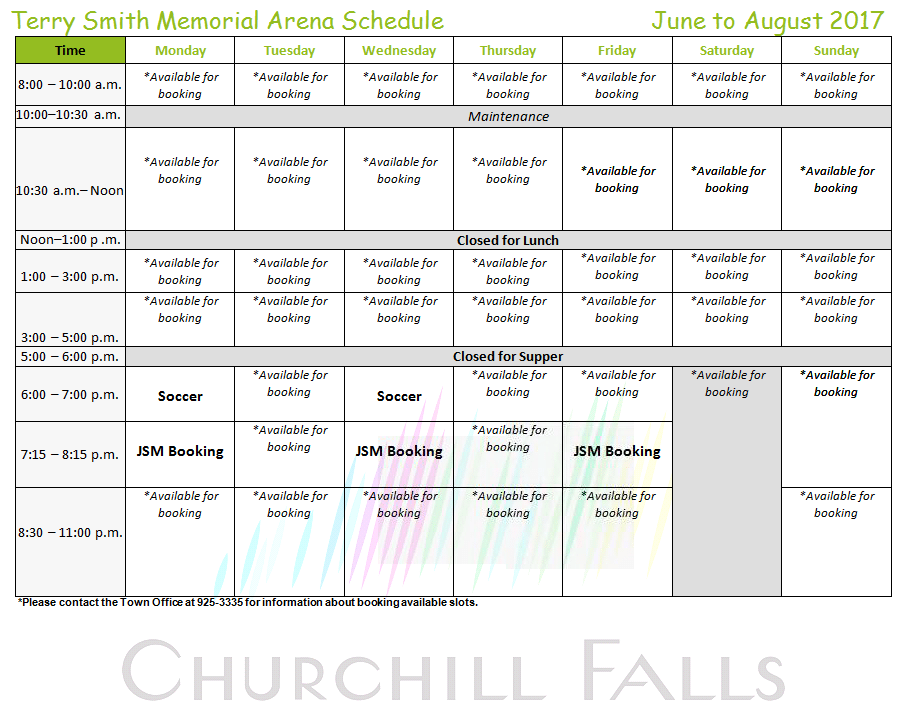 Facilities sports leisure social official site of - Churchill swimming pool timetable ...